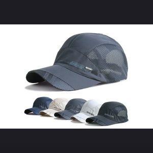 Summer outdoor sports baseball hat running visor